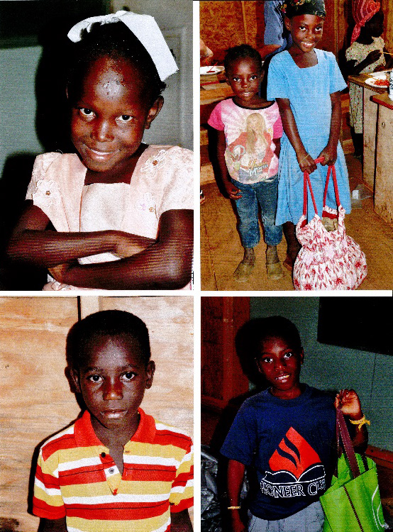 The children that EEC sponsors in partnership with CPI Haiti